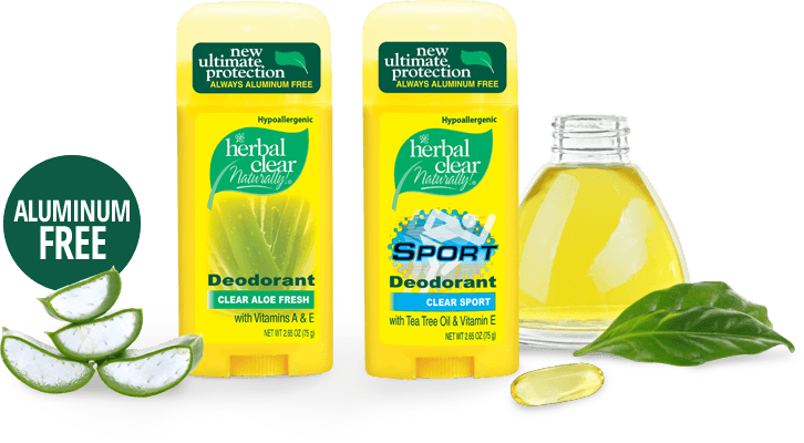 Herbal Clear Naturally! - CLEAN DEODORANT ALTERNATIVE